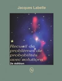 Recueil d'exercices de probabilités avec solutions