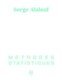 méthodes statistiques contenu préface