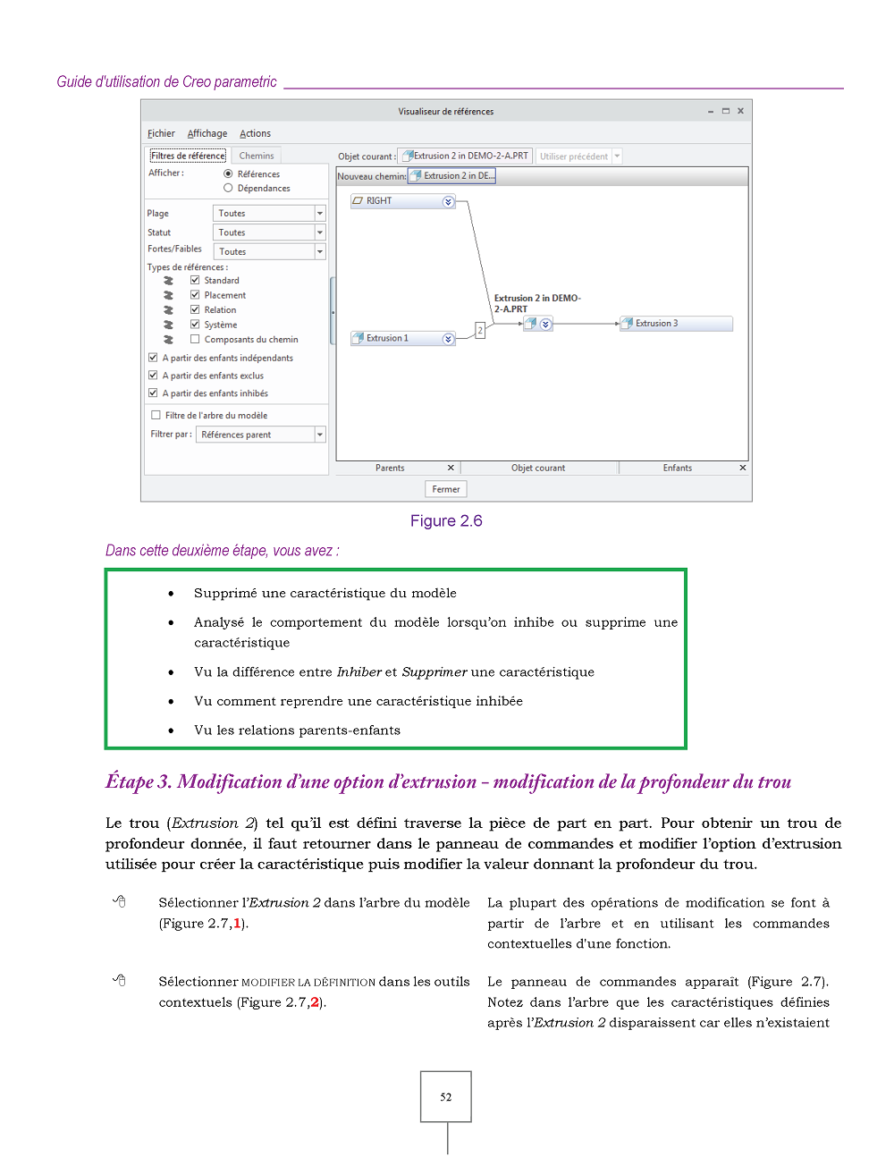 Creo Parametric exemple page 52